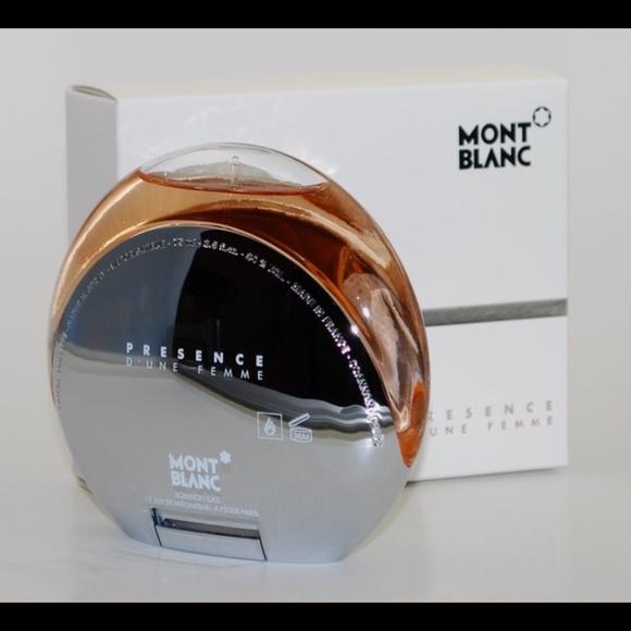0278b5a69bd ⚡️NWT Mont Blanc Presence D une Femme fragrance
